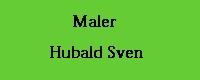 Maler Hubald Sven